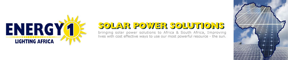 Energy One Solar Power South Africa